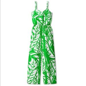 Lilly Pulitzer Target Sleeveless V-Neck Jumpsuit